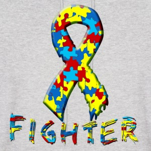 Autism Fighter Hoodies - Men's Hoodie