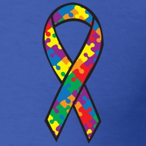 Autism Awareness Ribbon T-Shirts - Men's T-Shirt