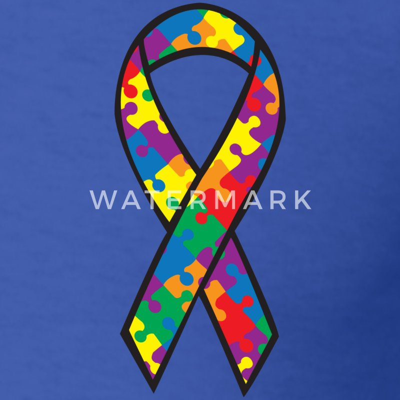 Autism Awareness Ribbon T-Shirt | Spreadshirt