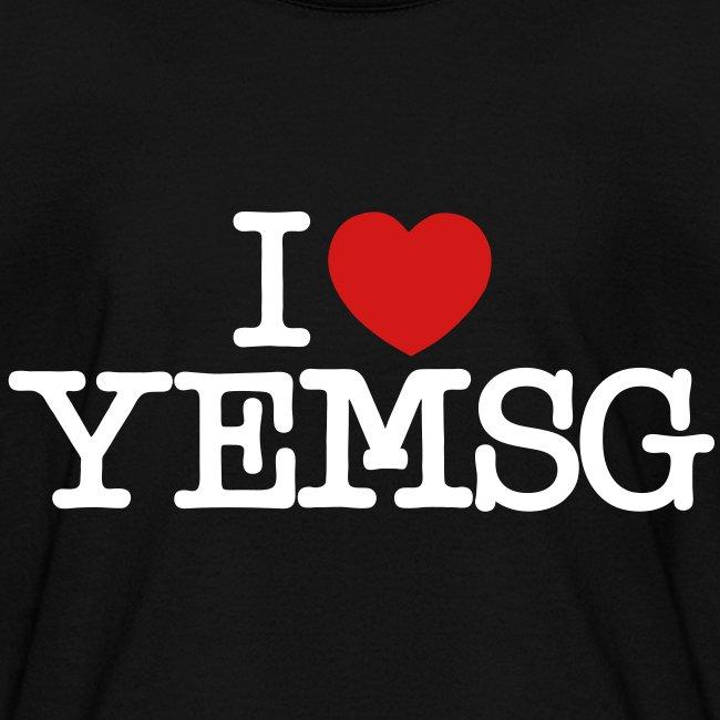 I heart YEMSG Kid's T-shirt (dark)