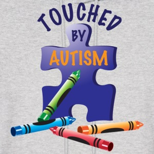 Touched by Autism Hoodies - Men's Hoodie