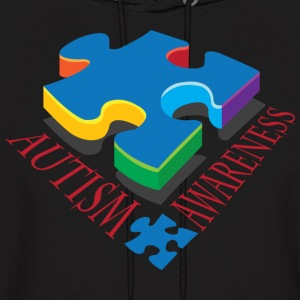 Autism Awareness Puzzle Piece Hoodies - Men's Hoodie