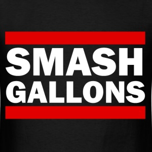 Smash Gallons - Gallon Smashing Meme T-Shirt Desig T-Shirts - Men's T-Shirt