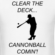 Design ~ Clear the deck... Cannonball comin'!