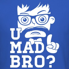 Like a swag cool u mad story bro moustache style Long Sleeve Shirts