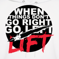 Design ~ Go Lift - Black Design/Hoodie