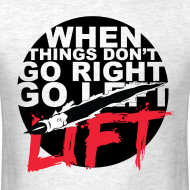 Design ~ Go Lift - Black Design/Tee