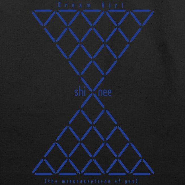 SHINEE- Dream Girl (Blue Metallic)