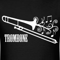 Trombone with Swirls