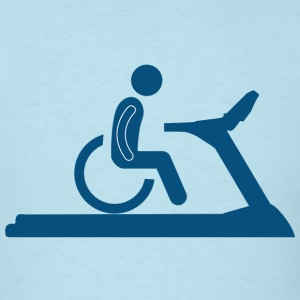 Wheelchair Treadmill T-Shirts - Men's T-Shirt