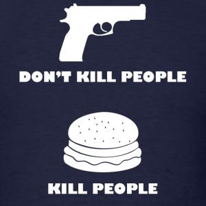 Cheeseburgers Kill People - Men's T-Shirt