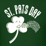 Design ~ Puking Shamrock (green)