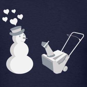 Snow Blower - Men's T-Shirt
