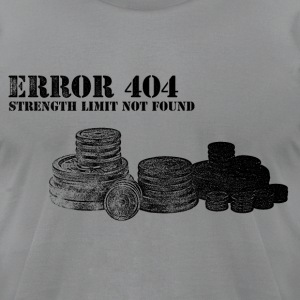 Error 404 - Men's T-Shirt by American Apparel