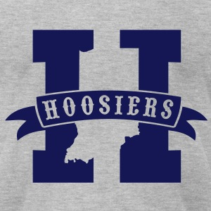 Hoosiers - Men's T-Shirt by American Apparel