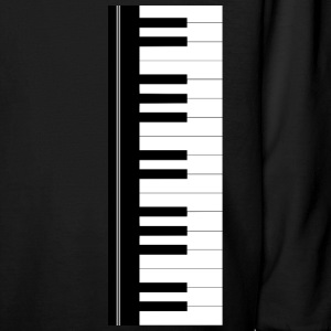 Piano keyboard Kids' Shirts - Kids' Long Sleeve T-Shirt