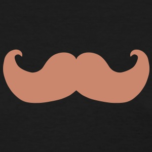 Mustache - Customizable Color Women's T-Shirts - Women's T-Shirt