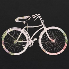Girly Floral Bicycle Sweatshirts