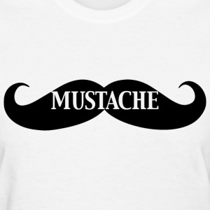 Moustache - Women's T-Shirt