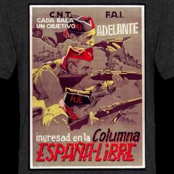 CNT-FAI ingresad en la columna espana-libre