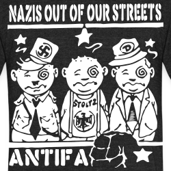 Nazis out of our streets - antifa