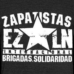 Zapatistas EZLN internacional brigadas solidaridad