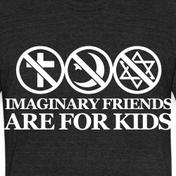 Imaginary friends are for kids