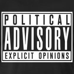Political advisory explicit opinions