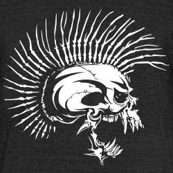Punk Skull similar to The Exploited