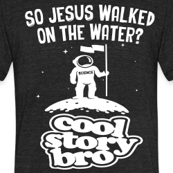 So jesus walked on the water?