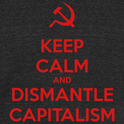 Keep Calm and Dismantle Capitalism