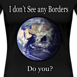 I don\'t see any borders. Do you?