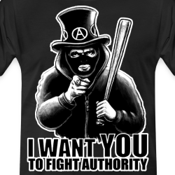 I want you to fight authority