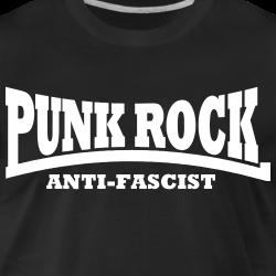 Punk rock anti-fascist