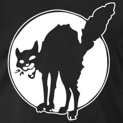 Sabotage black cat