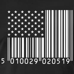 USA Flag Barcode