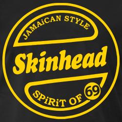 Jamaican style Skinhead. Spirit of 69