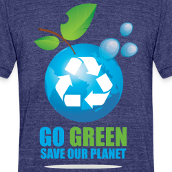 Go green save our planet