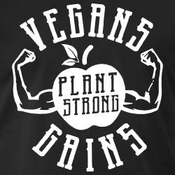 Vegans Gains - Plant Strong