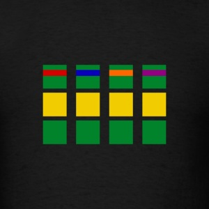 Minimalism Turtles T-Shirts - Men's T-Shirt