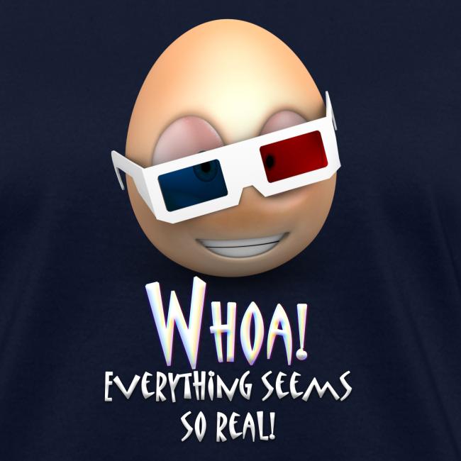 Jason's a Moron - 3D Glasses - Womens