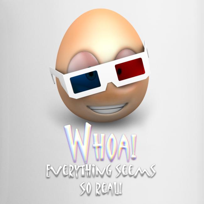 Jason's a Moron - 3D Glasses Mug