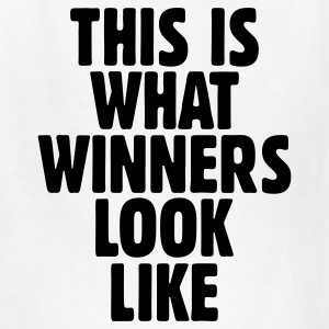 This is what winners look like t-shirt - Kids' T-Shirt