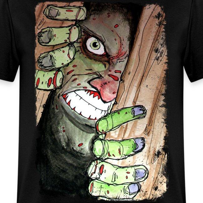 mens zombie breaking in