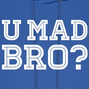 Like a cool you mad story bro moustache Hoodies - Men's Hoodie