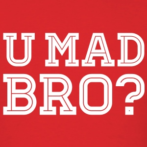 Like a cool you mad story bro moustache T-Shirts - Men's T-Shirt