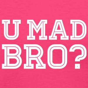 Like a cool you mad story bro moustache Women's T-Shirts - Women's V-Neck T-Shirt