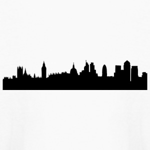 London cityscape silhouette Kids' Shirts - Kids' Long Sleeve T-Shirt