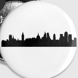 London cityscape silhouette Buttons - Large Buttons