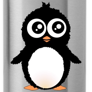 Cute penguin cartoon Bottles & Mugs - Water Bottle